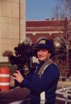 The late Dave Almond, Photojournalist at TV8 1990's