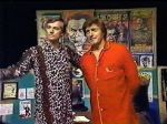 Hoolihan and Big Chuck in their PJ's