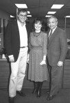 Joe Dimino, Tana Carli Dimino and Virgil Dominic at TV8
