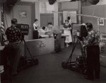 Early studio shot at WEWS of Dorothy Fulheim Show