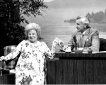 Cleveland TV icon Dorothy Fuldheim on the Johnny Carson Show