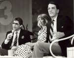 Football Great Joe Namath on Morning Exchange TV5 with Jan Jones and Fred Griffith