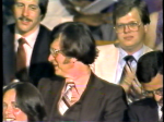 TV8 Photog Bob Kasarda and Producer Jim Lindsay at 1980 Emmy Awards