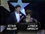 Stan Miller, PM Magazine TV8 and Lynda Hersch, TV5 Morning Exchange at Emmys 1983