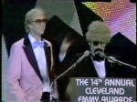 "Ron ""The Ghoul"" Swede at the 1983 Emmys"