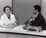 WEWS Dorothy Fuldheim interviewing Jerry Lewis, possibly 1970's