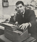 Dan Hackel WEWS Anchorman in 1962