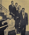 The popular Duke Jenkins Orchestra in March 1956, Saturdays on WEWS
