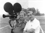 WEWS Photographer Don Ungar and a young Art Modell