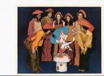 "WJKW-TV 8's ""The Dipsy Doodle Show"" with Jonathon Freeman (3rd from left) and Helene Leonard (5th from Left)"