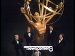 TV 8 Anchors doing Emmy promotion in 1978