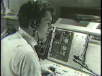 Chuck Schodowski directing show at WJW TV in early 1960's