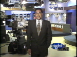 Eight is News Mark Spain in Studio A 1990