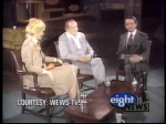 Wilma Smith on WEWS Afternoon Exchange interviewing Bob Hope, date uncertain