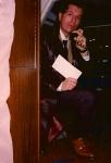 Dick Russ at TV8 in 1989